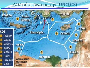 Σχήμα 2. Η ΑΟΖ της Τουρκίας